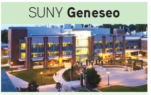Geneseo Campus Map SUNY Geneseo Campus Map Download  